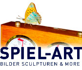 Spiel-Art: Bilder, Sculpturen & More